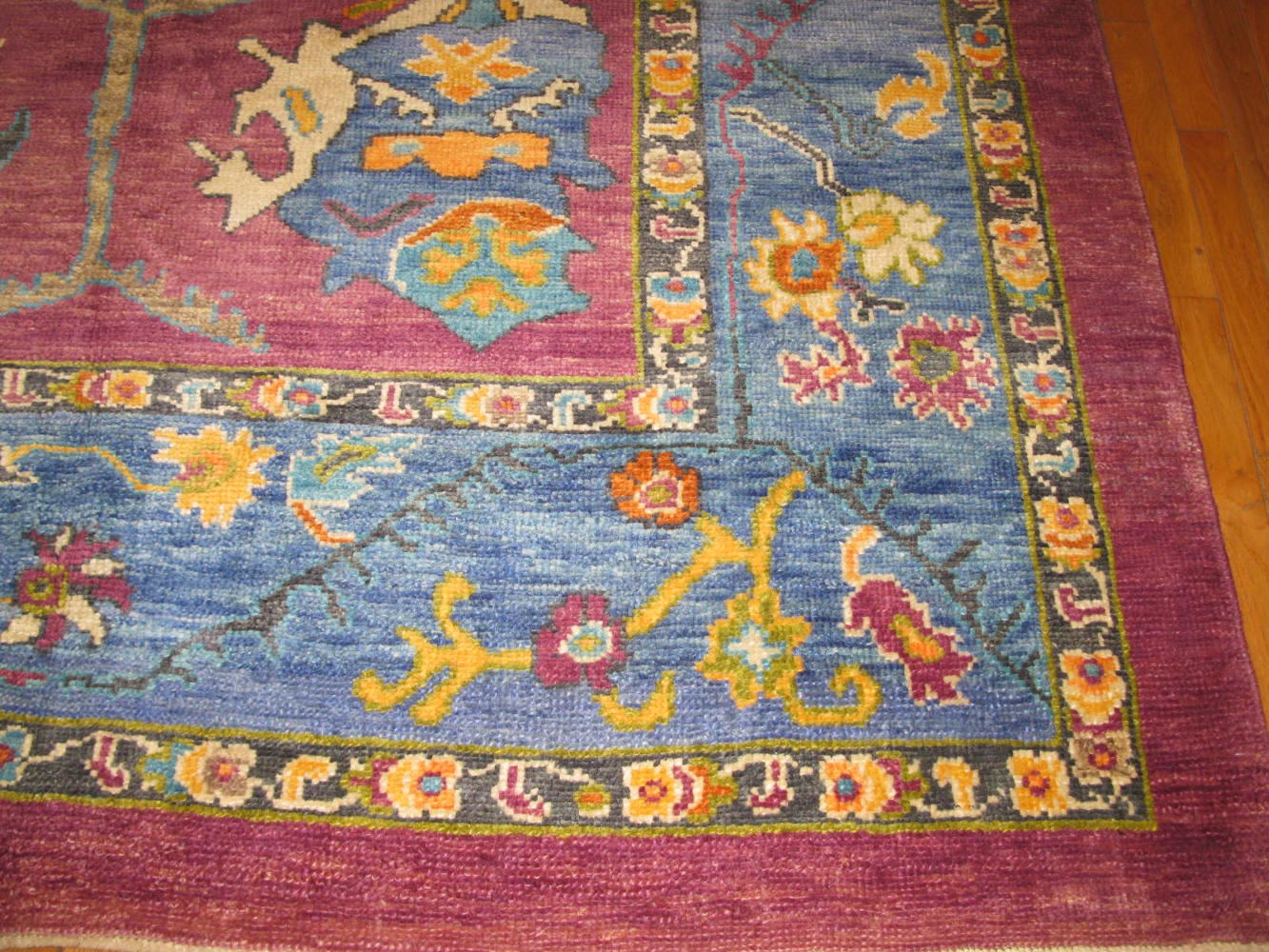 Large Handmade Oushak Rug Surena Rugs