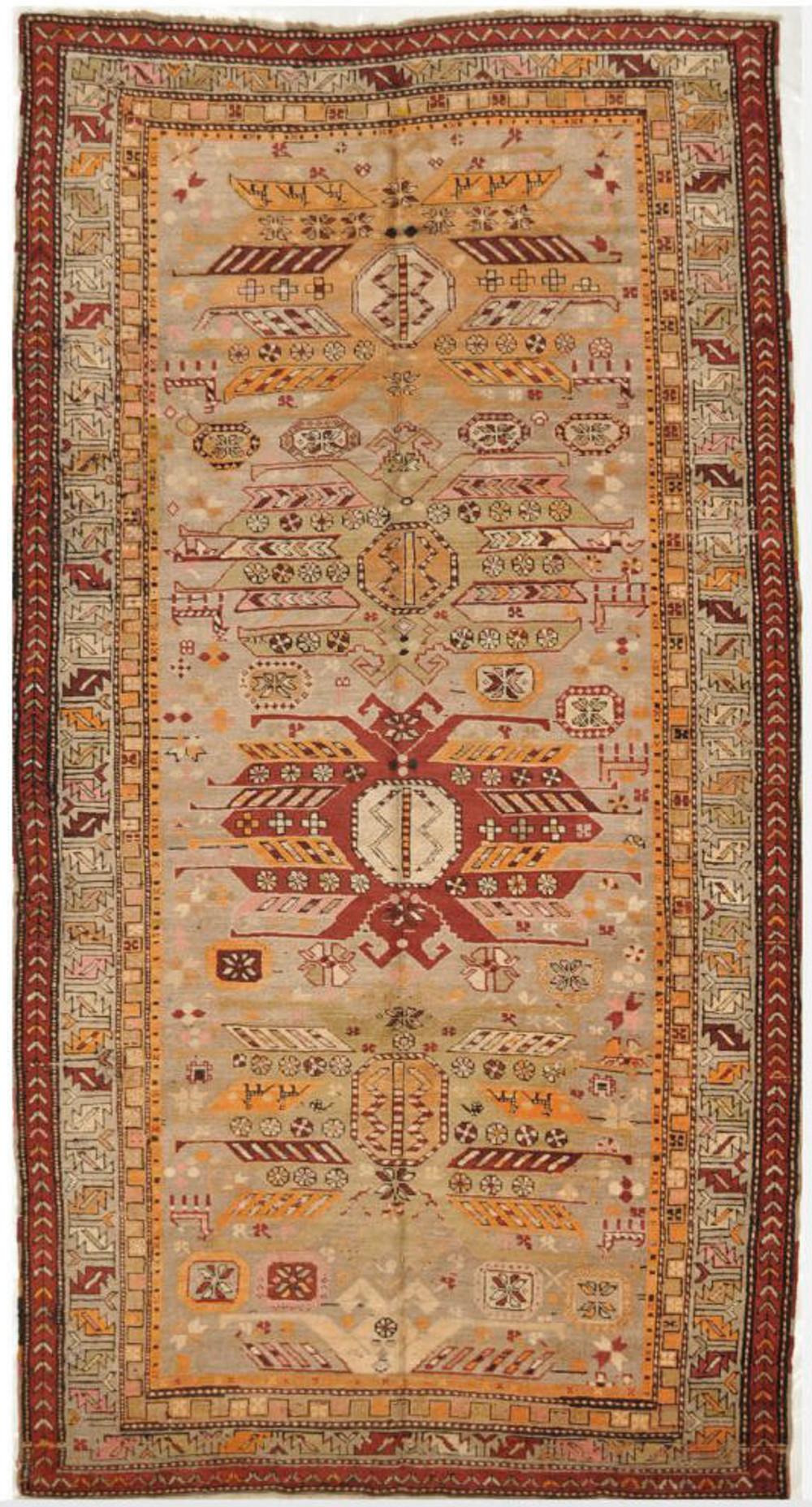Antique Caucasian Karabaq Rug Surena Rugs